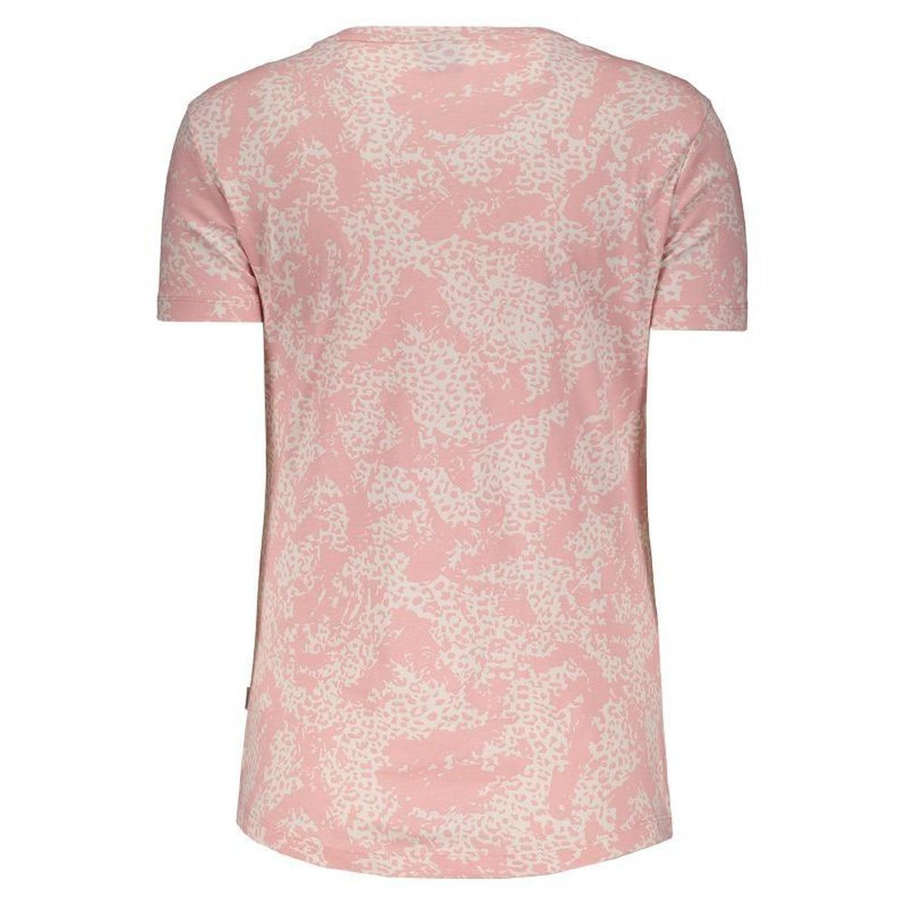Camiseta Puma Elevated Ess Aop Tee Rosa