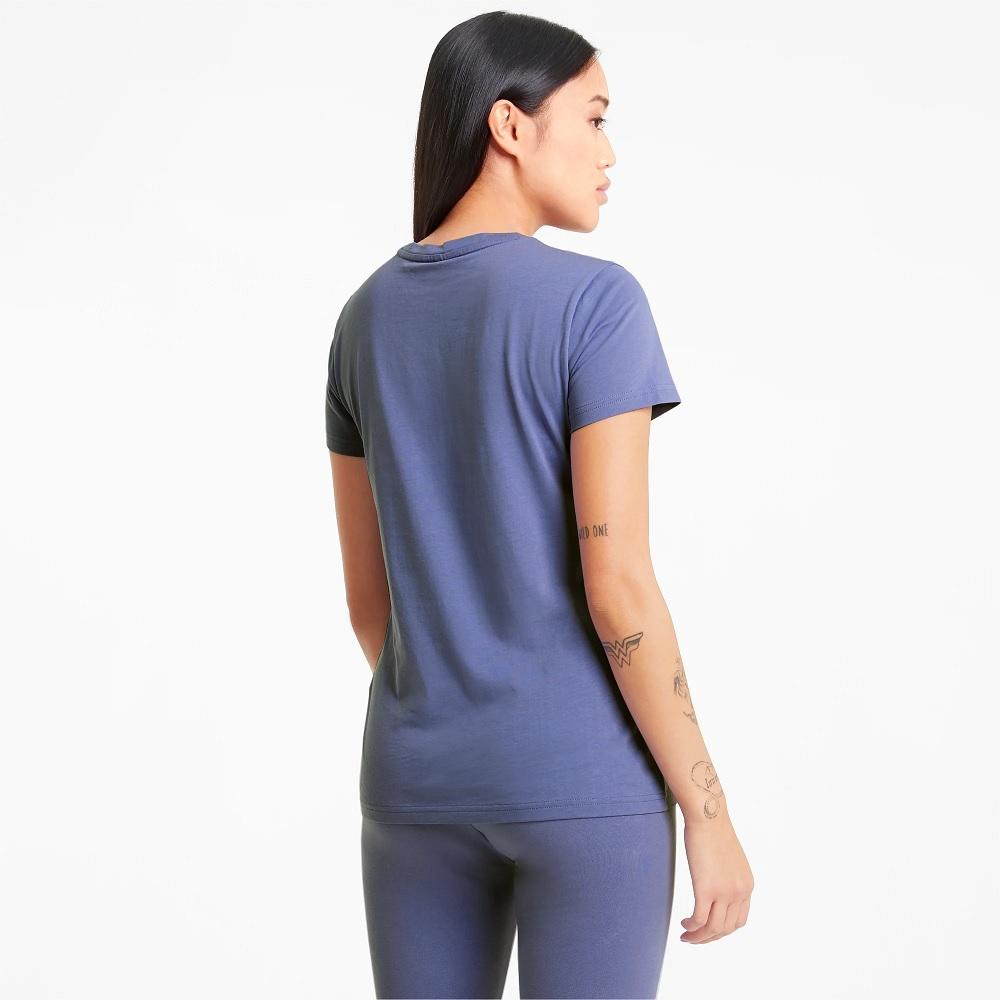 Camiseta Puma ESS metallllc Feminina - Roxa