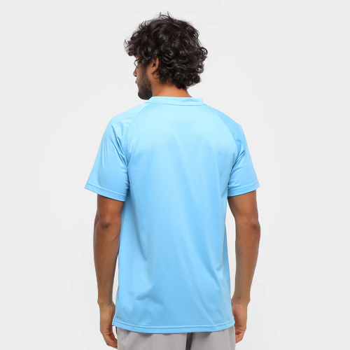 Camiseta Puma ss tech tee Masculina - Azul
