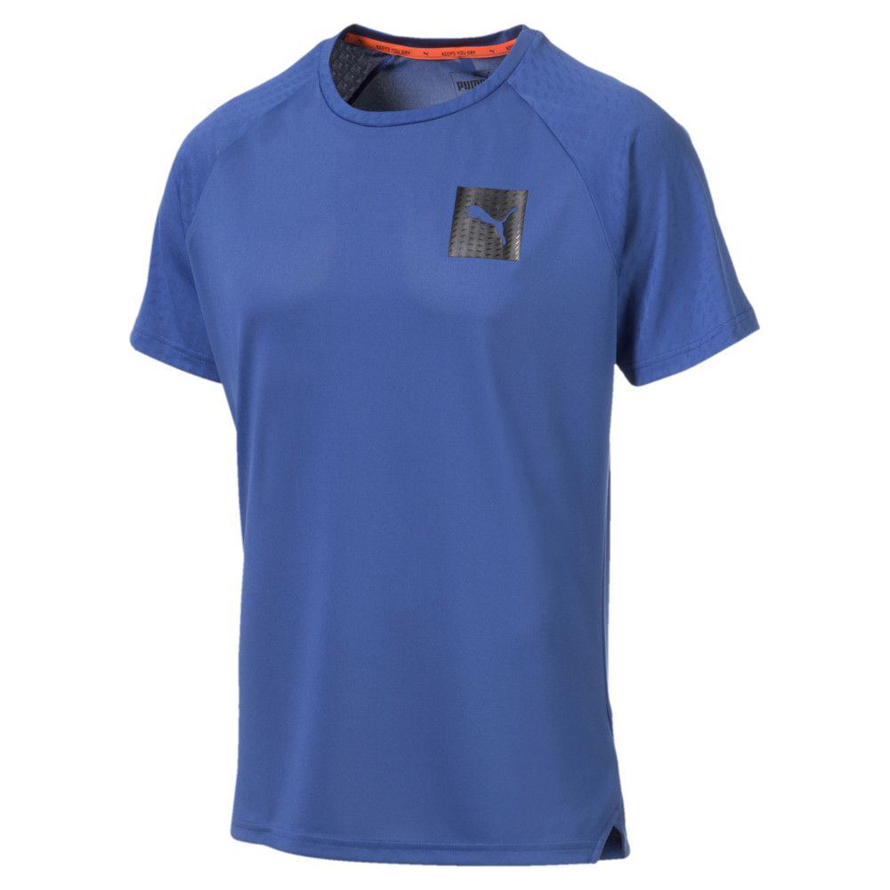Camiseta Puma TEC SPORTS MEN'S TEE - Azul