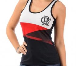 a670f09c1275f Camiseta Regata do Flamengo Squad - Feminina GG - Titanes Esportes