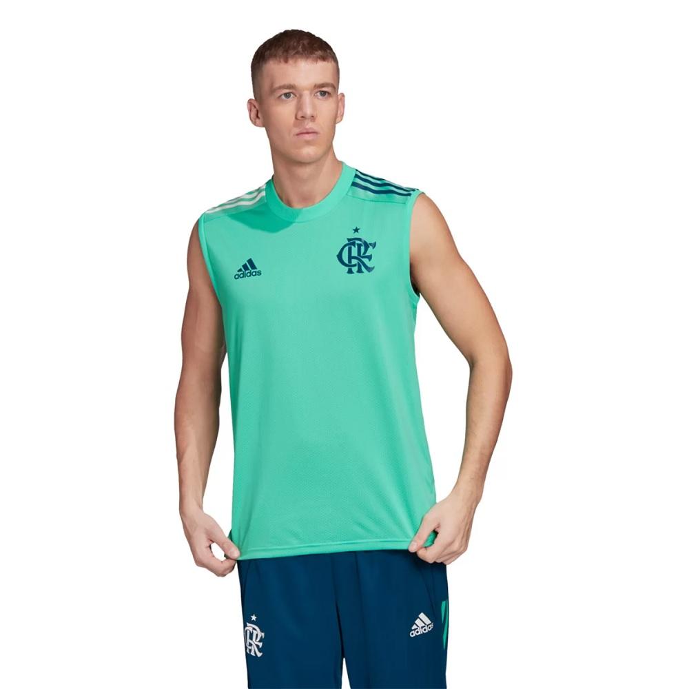 Regata Adidas Treino CR Flamengo 20/21 Masculina - Verde