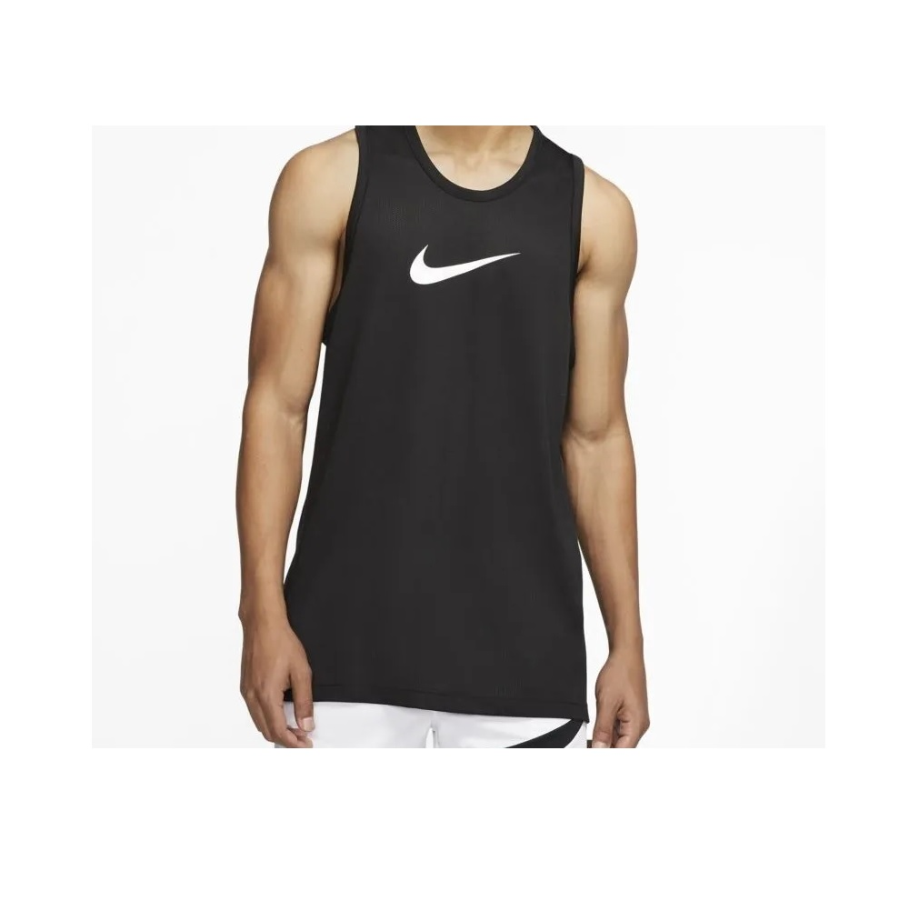 Camiseta Regata Nike NBA Basketball Crossover - Masculina - Preto