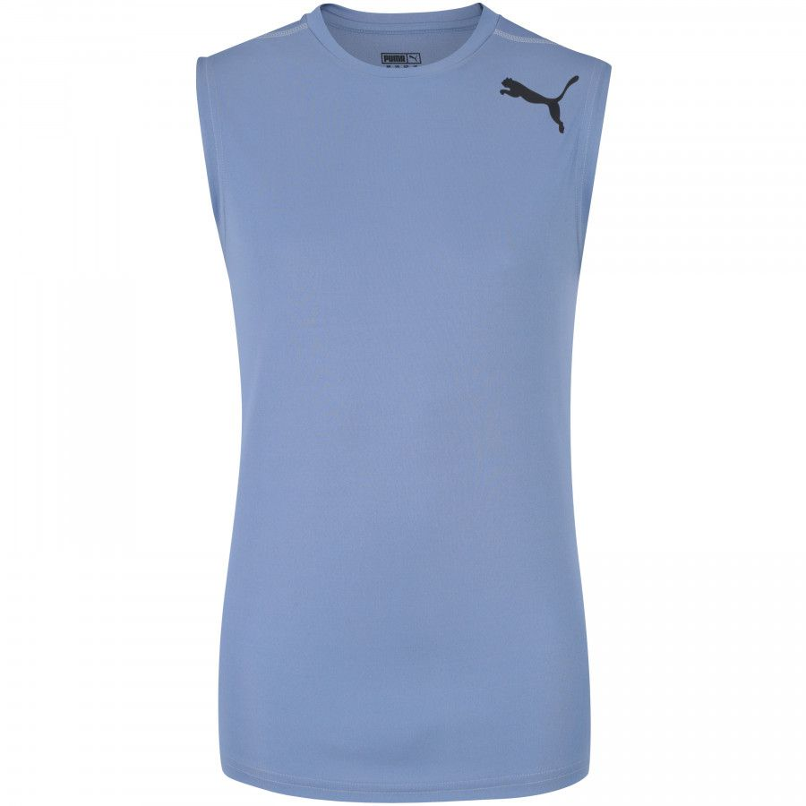 Camiseta Regata Puma Essential Sleeveless - Masculina - Azul Claro -  Titanes Esportes 35a2f6916be