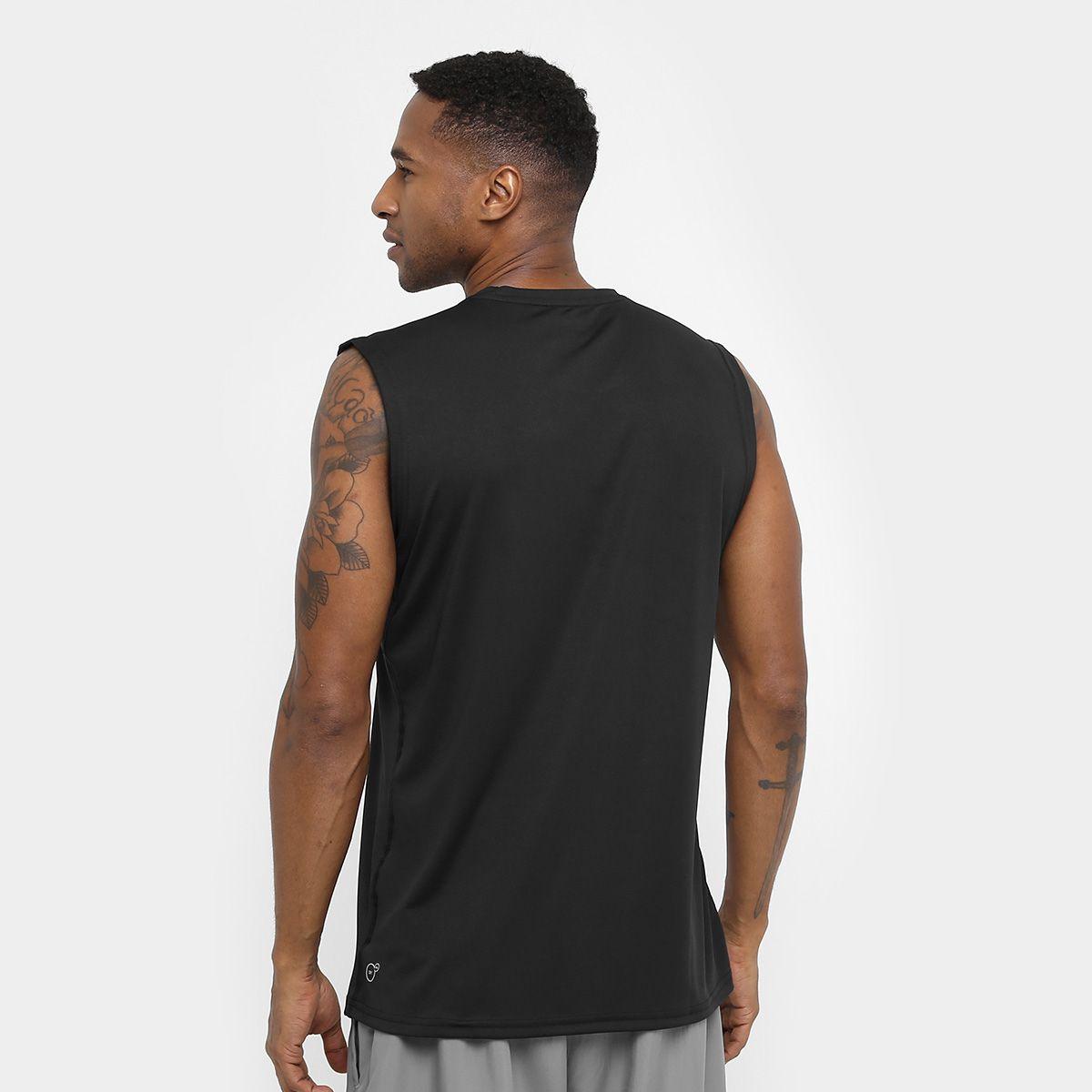 cb544a3bc1377 Camiseta Regata Puma Essential Sleeveless - Masculina - Preto - Titanes  Esportes