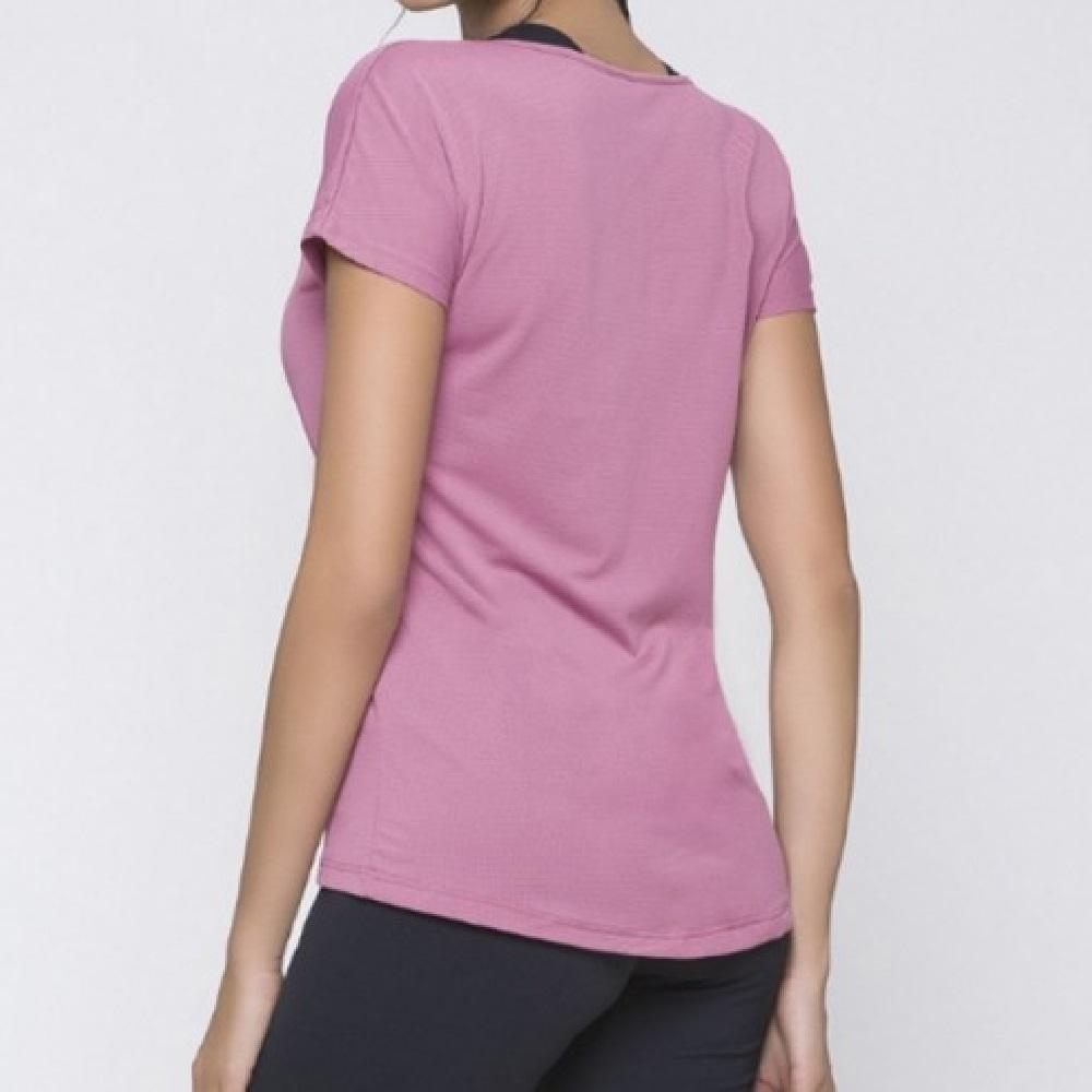 Camiseta Selene Dry Fit - Rosa