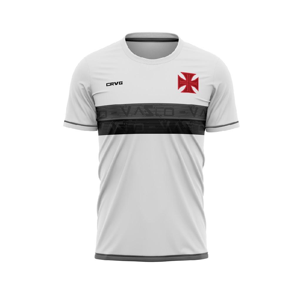 Camiseta Vasco Approval Braziline Masculino - Branca