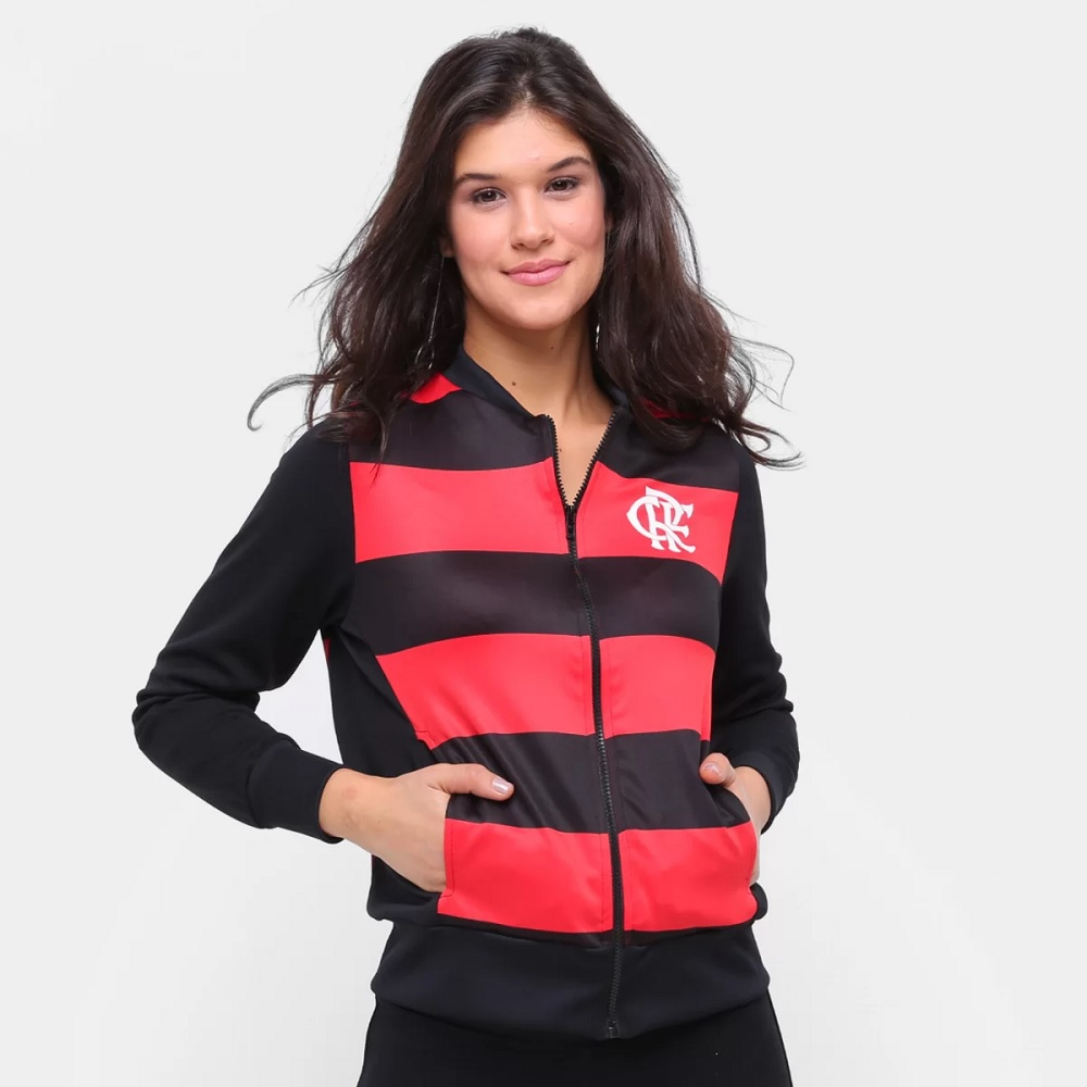 Casaco Flamengo Middle Feminina - Braziline