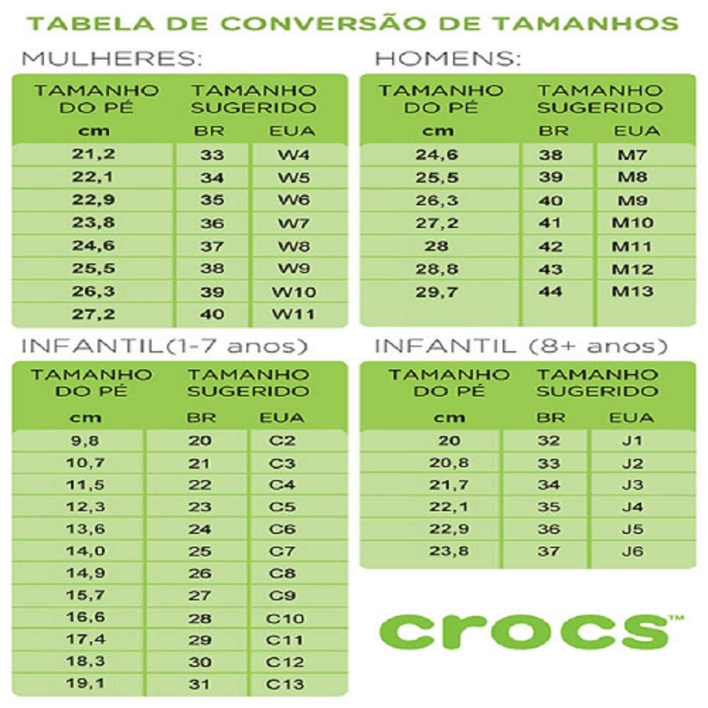 Chinelo Crocs Crocband Flip - White