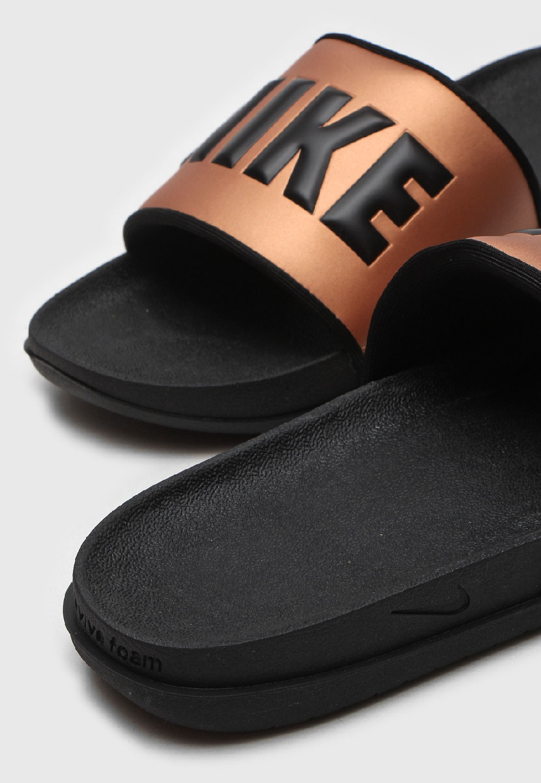 Chinelo Nike Offcourt Slide - Bronze