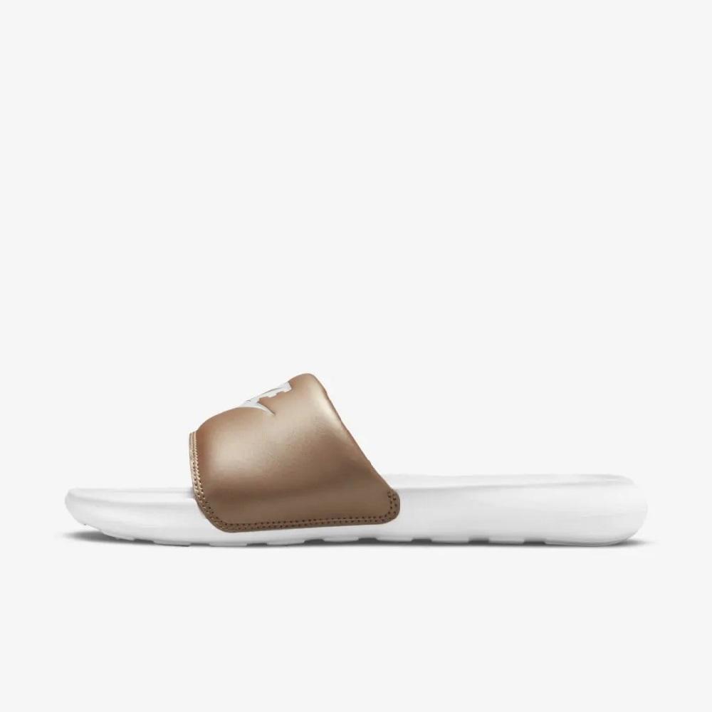 Chinelo Nike Victori One Slide W - Branco