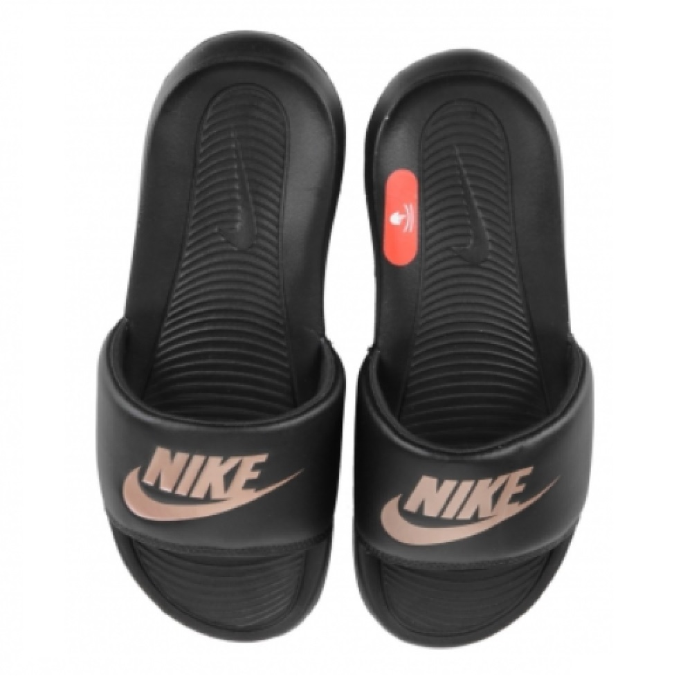 Chinelo Nike Victori One Slide W - Preto/Rose