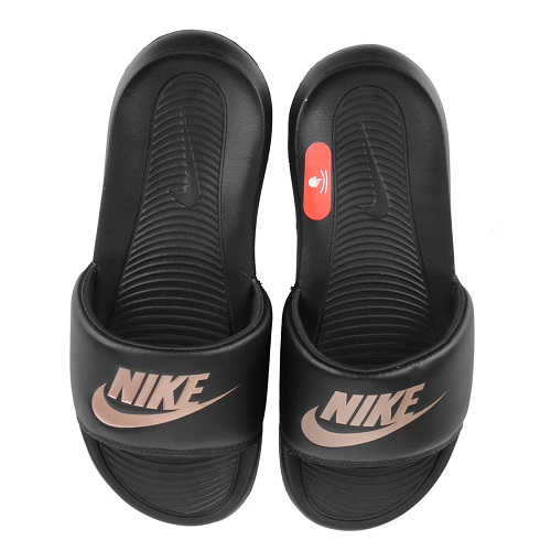 Chinelo Nike Victori one slide w - preto/rose