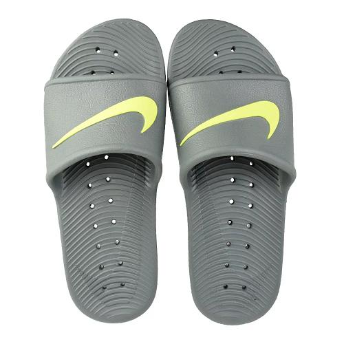 Chinelo Sandália Nike Kawa Shower Original - Cinza