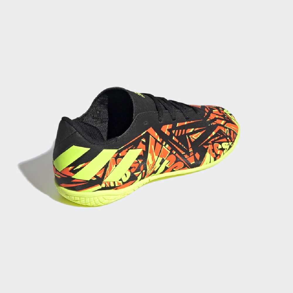 Chuteira Adidas Futsal Juvenil Nemeziz Messi 20.4 - Vermelho/Amarelo
