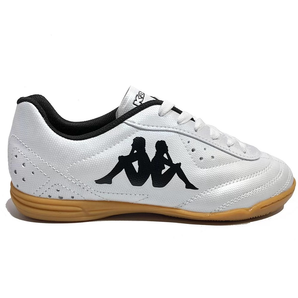 Chuteira Futsal Kappa Print II - Branco