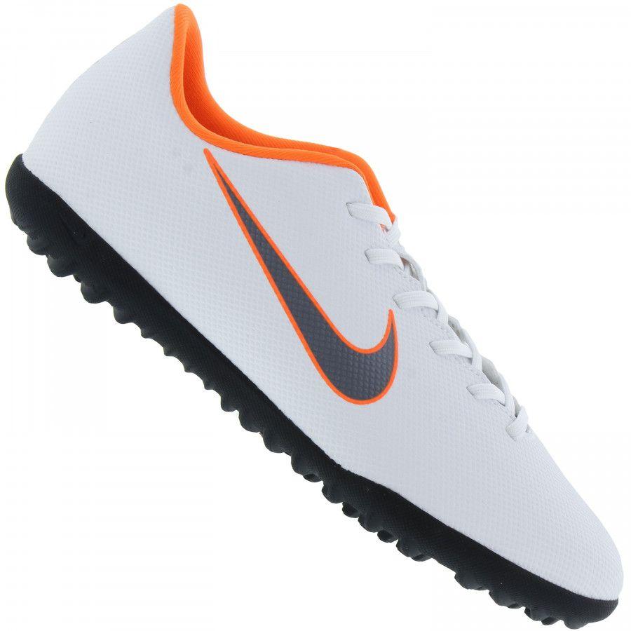 3b95d40ee9 Chuteira Society Nike Mercurial Vaporx 12 Club - Branco - Titanes Esportes