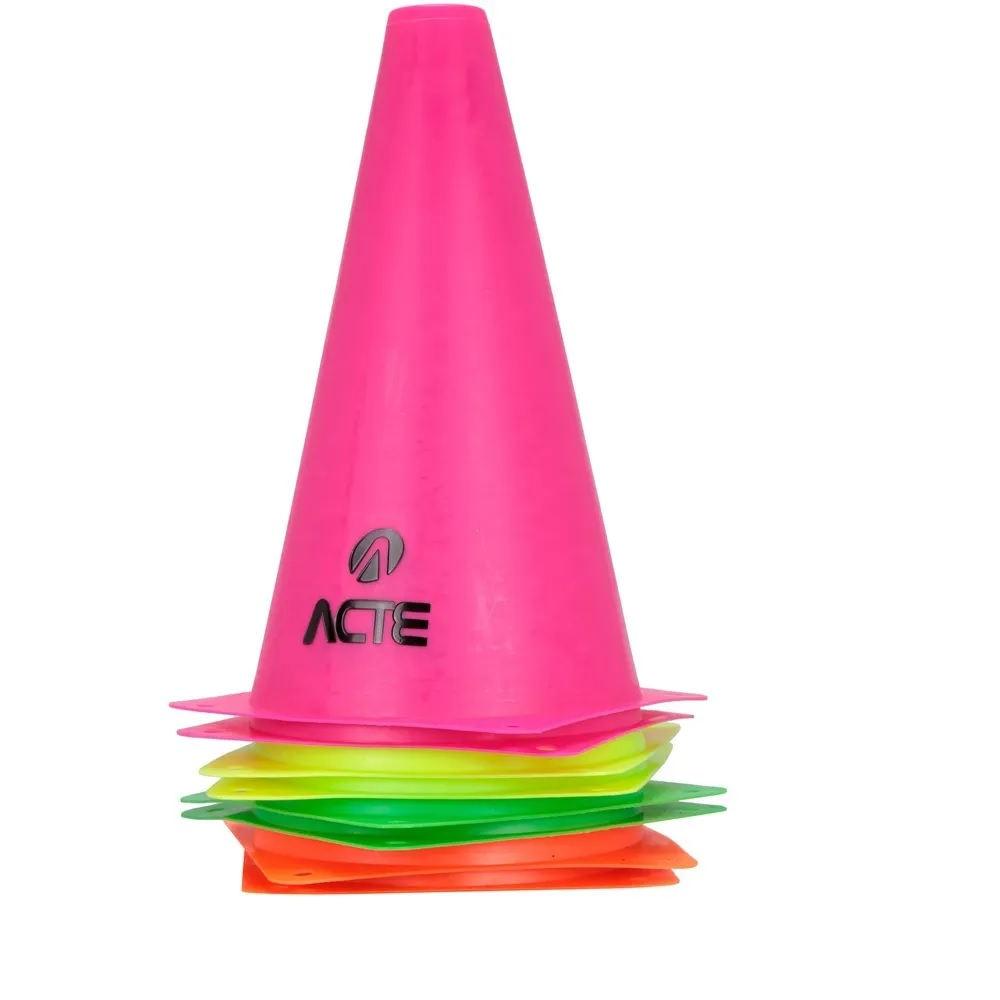 Cone Acte Para treinamento De Agilidade 10 Und - T73
