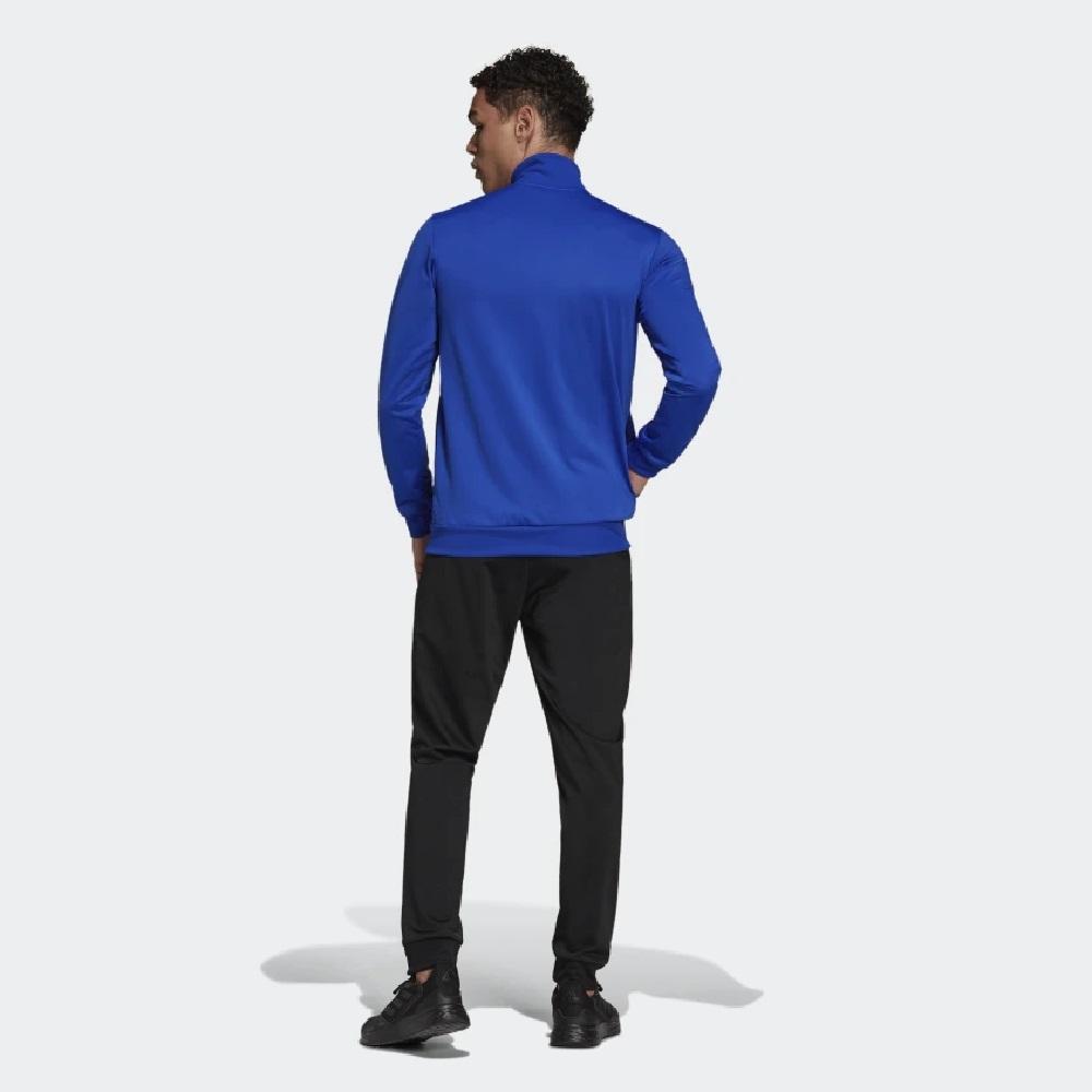 Conjunto Adidas Agasalho Primegreen Essentials Small Logo - Azul/Preto