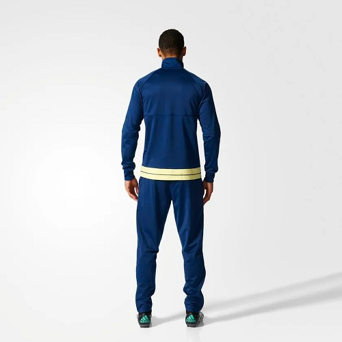Conjunto Cr Pes Suit Flamengo - Azul l - 2xl