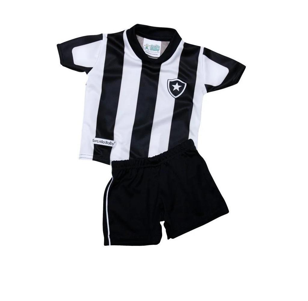 Conjunto Torcida Baby Botafogo - 4 Anos