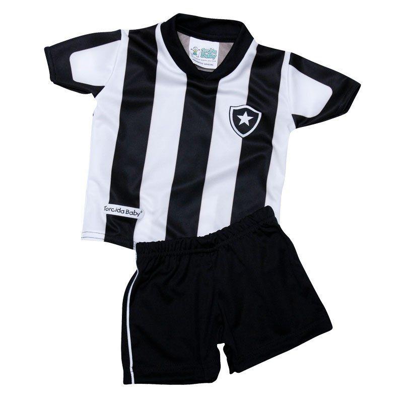 Conjunto Infantil Botafogo Torcida Baby - 4 Ano