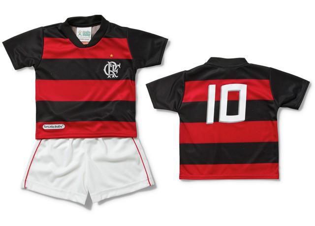 Conjunto Infantil do Flamengo Torcida Baby - 2 Anos - Titanes Esportes f42a428ed48