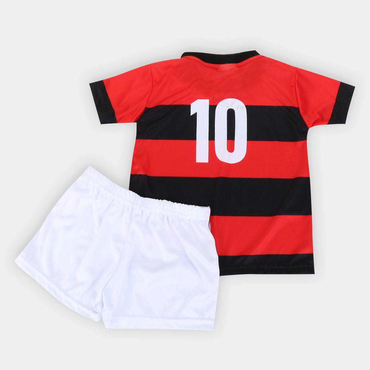 Conjunto Infantil do Flamengo Torcida Baby - 4  Anos
