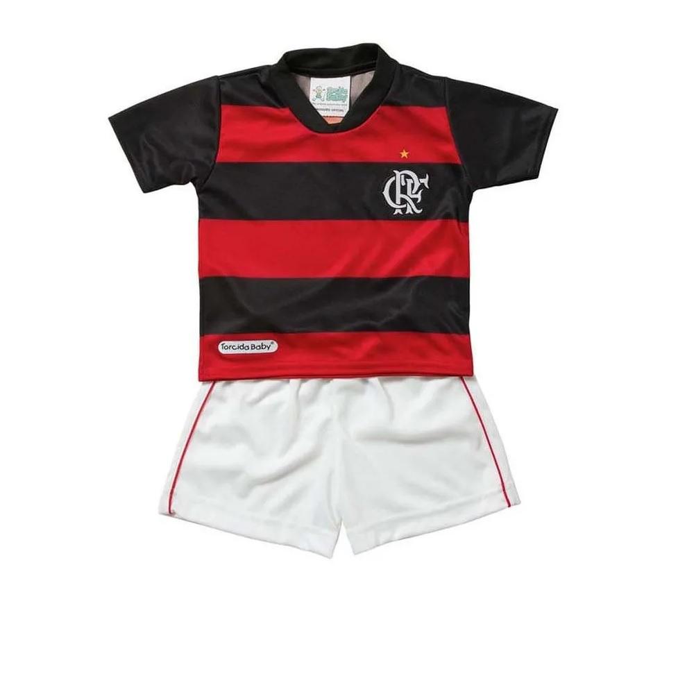 Conjunto Infantil do Flamengo - Torcida Baby