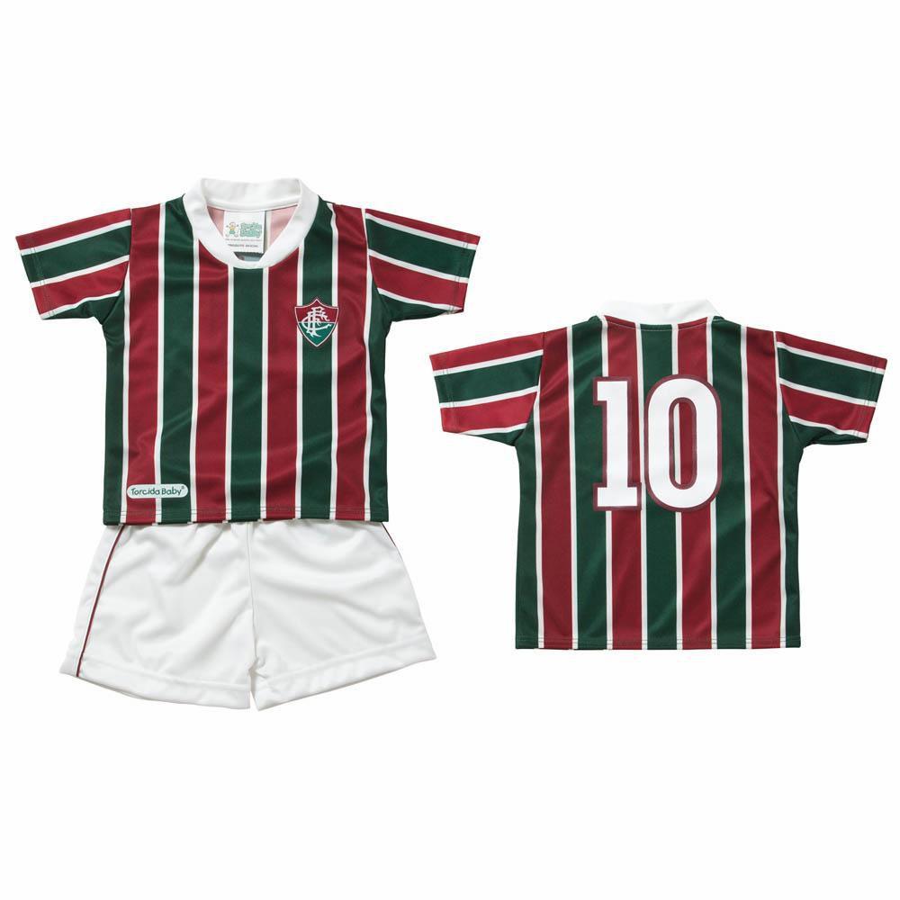 Conjunto Infantil do Fluminense Torcida Baby - 1 Ano