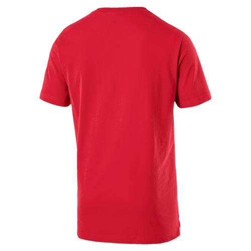 Camisa Puma Athetics tee VERMELHO