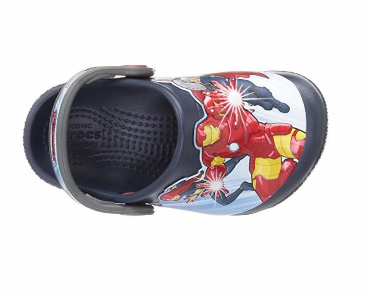 Sandália Crocs Infantil Marvel Avengers Multi Clog - Navy