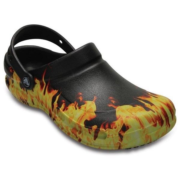 Sandália Crocs Bistro Graphic Clog Black