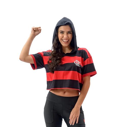 Cropped Braziline Lucky Feminina - Flamengo