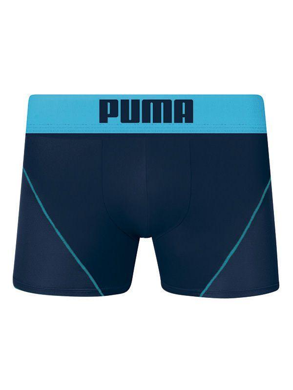 Cueca Boxer Microfibra  - Puma - Marinho