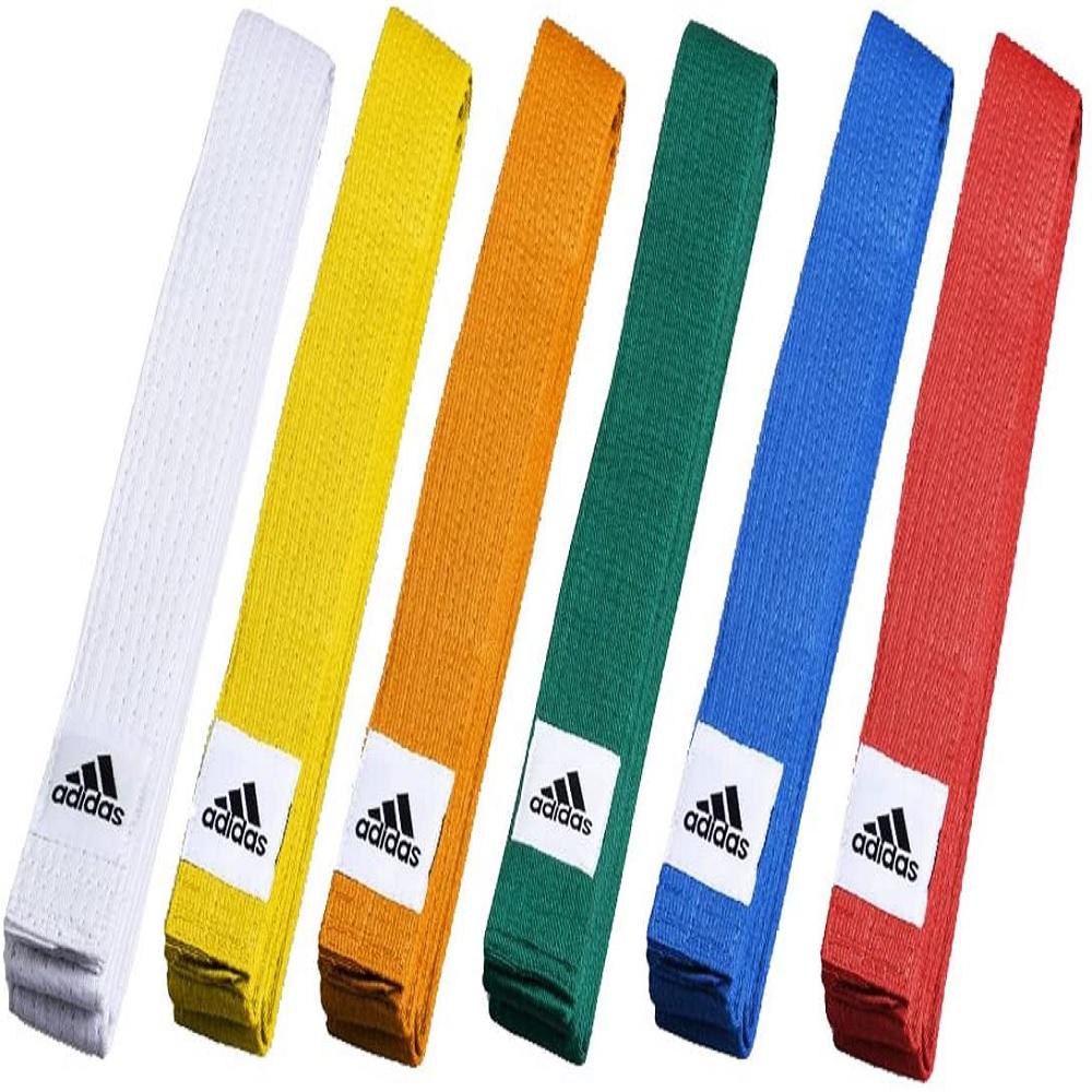 Faixa Adidas Judô Club Belt - Laranja