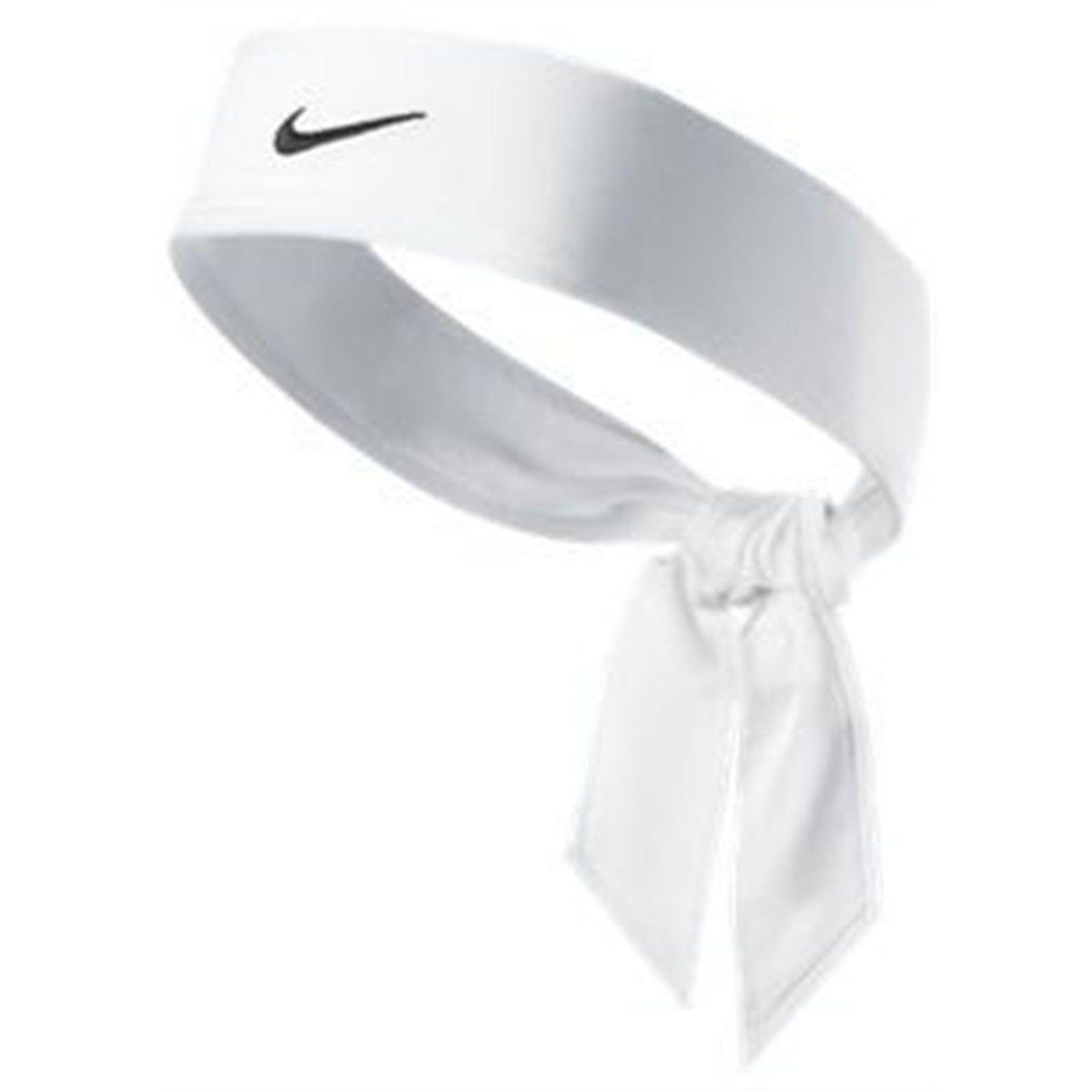 Faixa de Cabelo Nike Dri Fit Head Tie 2.0 - Branca
