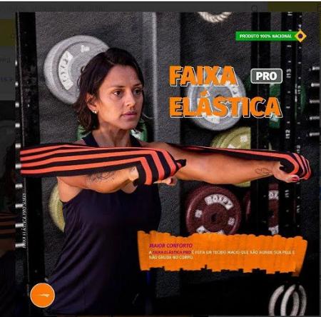 Faixa Elástica forte- Hidrolight FL67