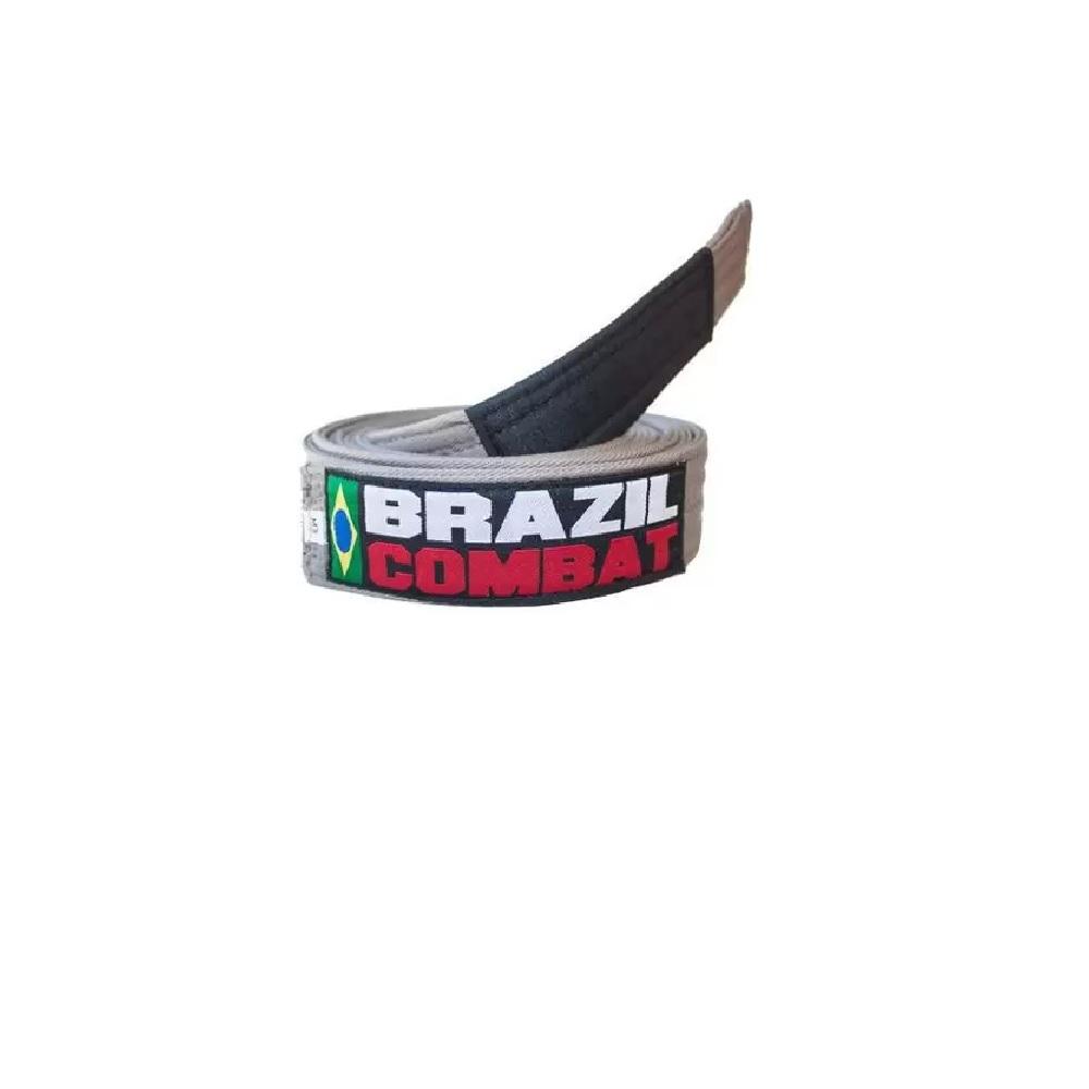Faixa Especial Brazil Combat - Cinza