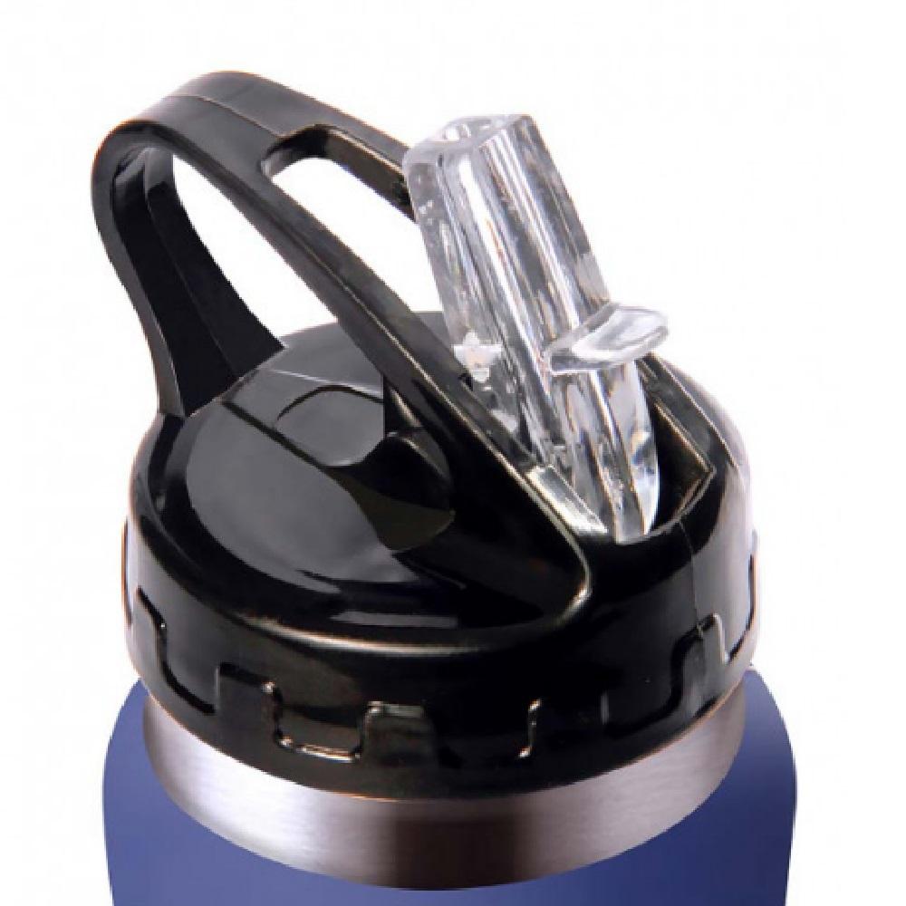 Garrafa Squeeze Térmica Emborrachado ACTE 500 ML - Azul