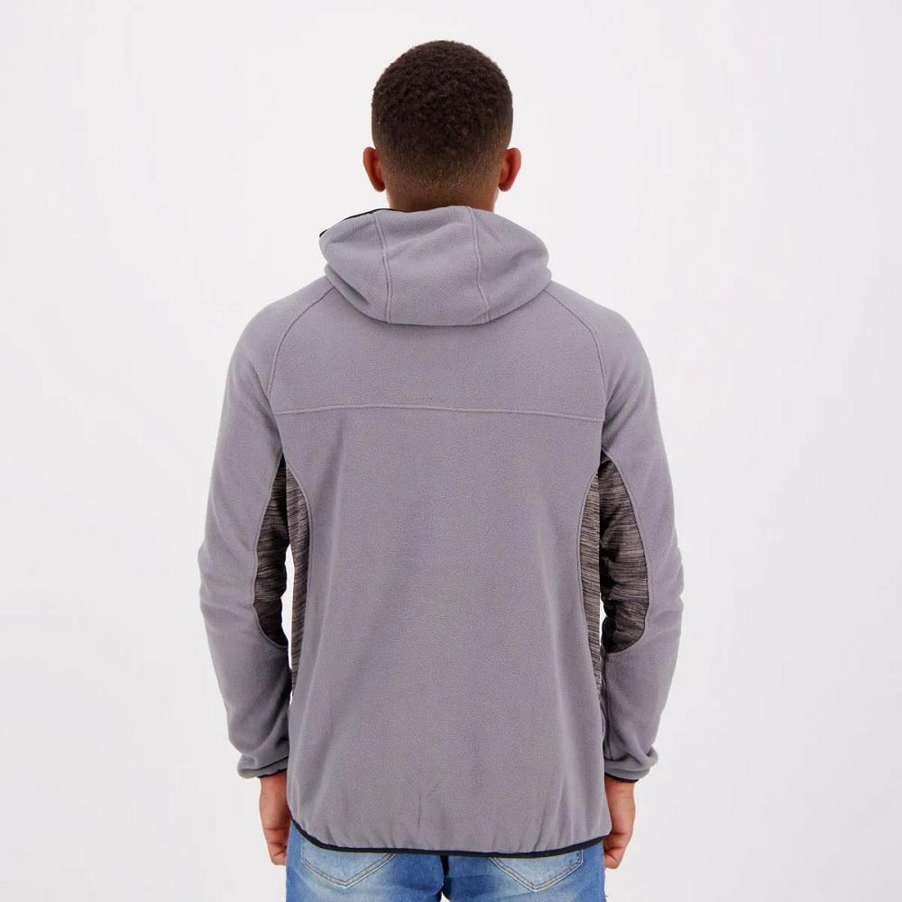 Jaqueta Fila Fleece masculina - cinza
