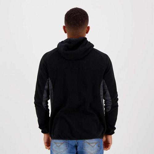 Jaqueta Fila Fleece masculina - preto