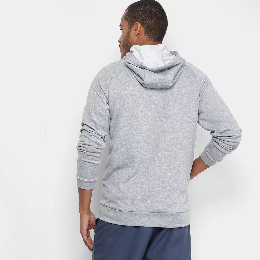 Jaqueta Nike Dry Hoodie Fz Fleece - Cinza