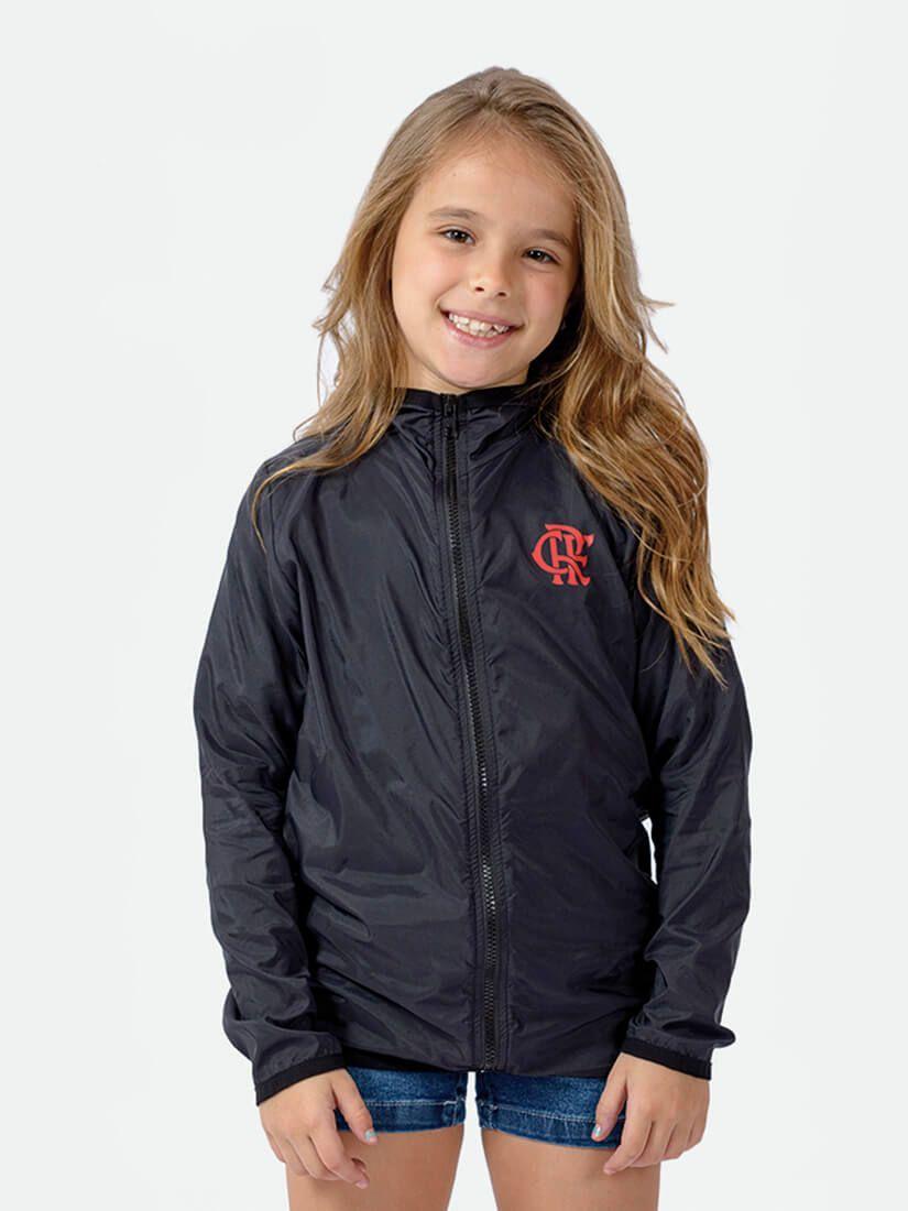 Jaqueta Quebra Vento Licenciada Flamengo Infantil