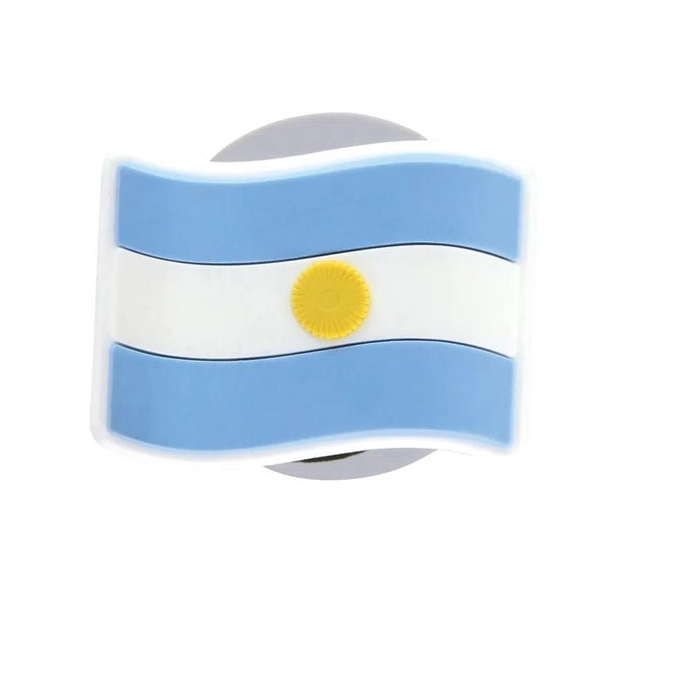 Jibbitz Broche Bandeira Argentina - Crocs
