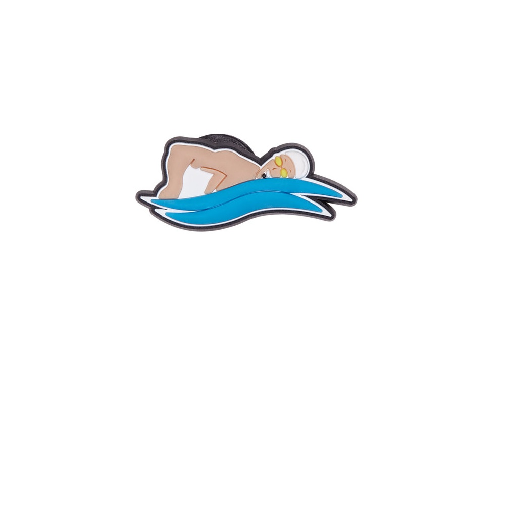 Jibbitz Crocs Competitive Swimmer