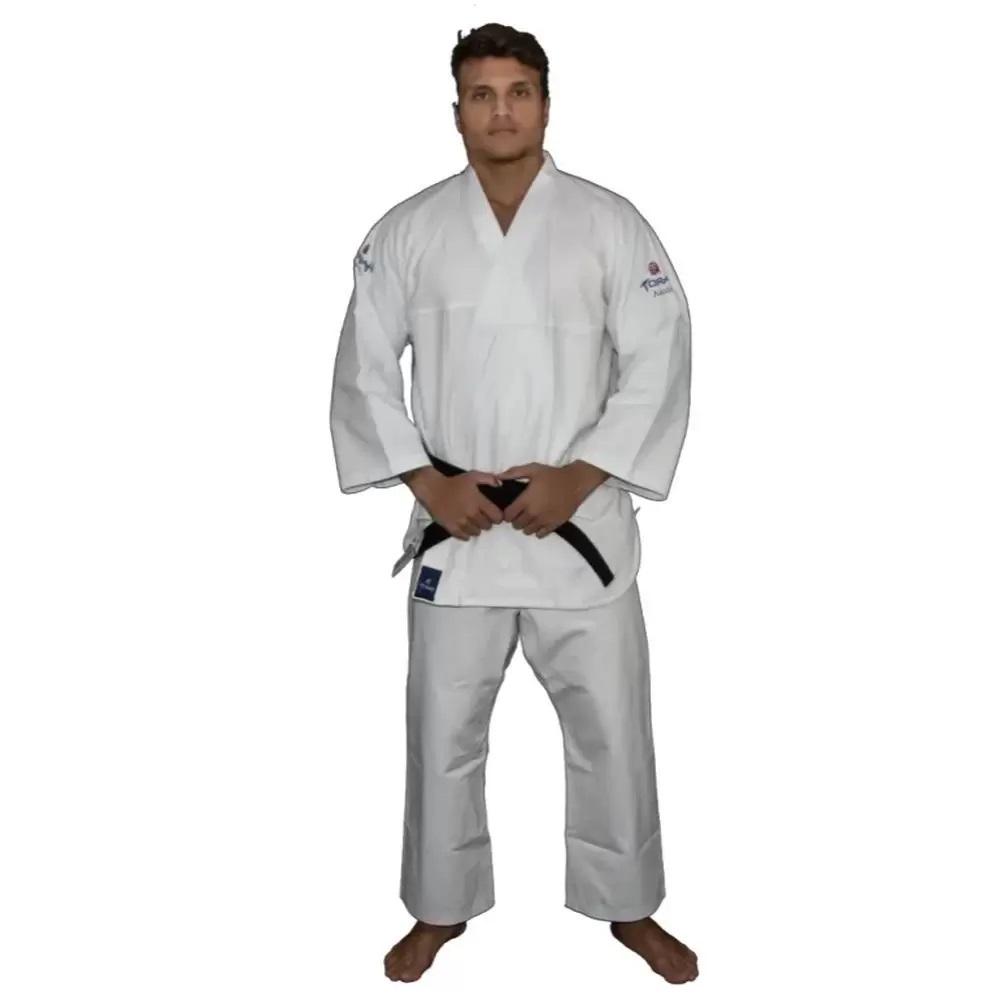 Kimono Aikidô Reforçado Branco Torah - Adulto