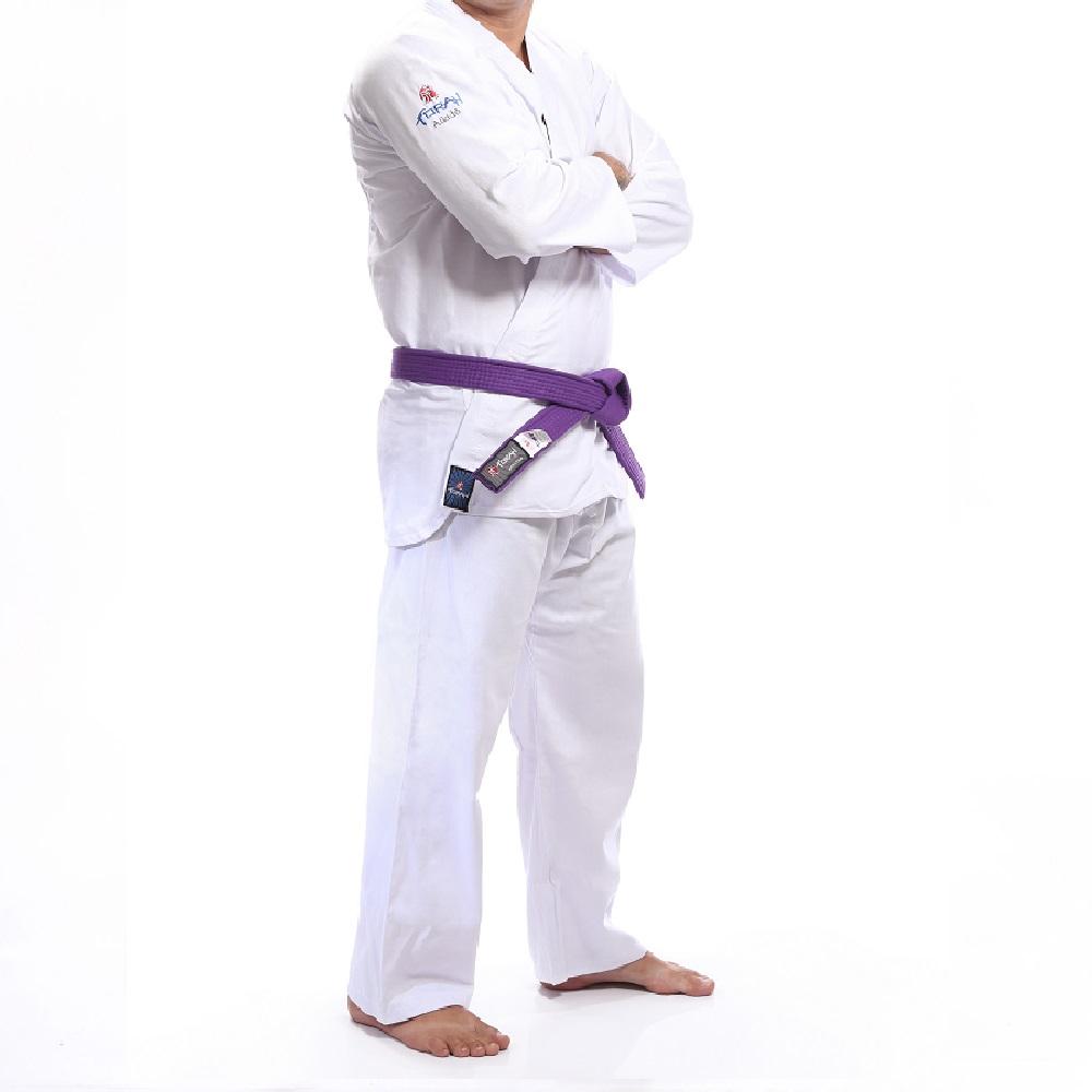 Kimono Torah Aikidô Reforçado Branco - Infantil
