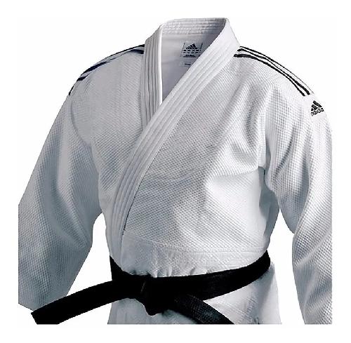 Kimono De Judo adidas Training Branco J500 Trançado
