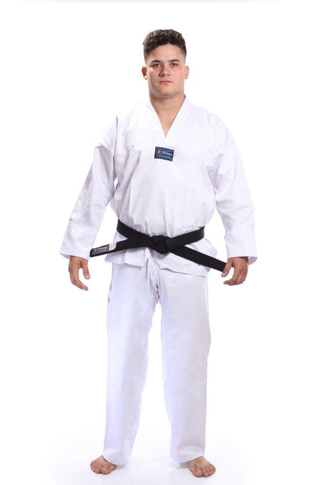 Kimono dobok Adulto Taekwondo Gola Branca - Torah